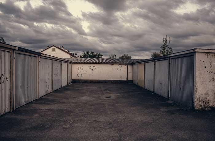 garage lot